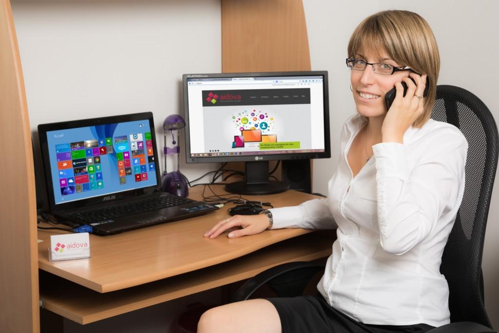 Murielle CHARANSOL, consultante en informatique / Communication Web et Outils de gestion