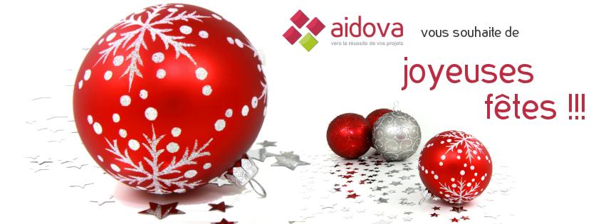 De joyeuses fêtes de la part d'Aidova !