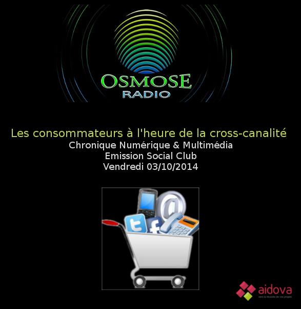Système multicanal sur Osmose Radio