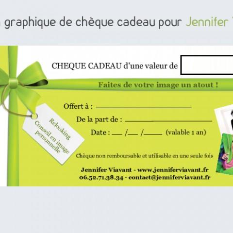 Chèque cadeau Jennifer Viavant