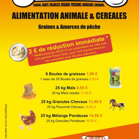 Flyer promotionnel A NÎMES AL