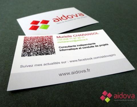 Carte de visite Aidova