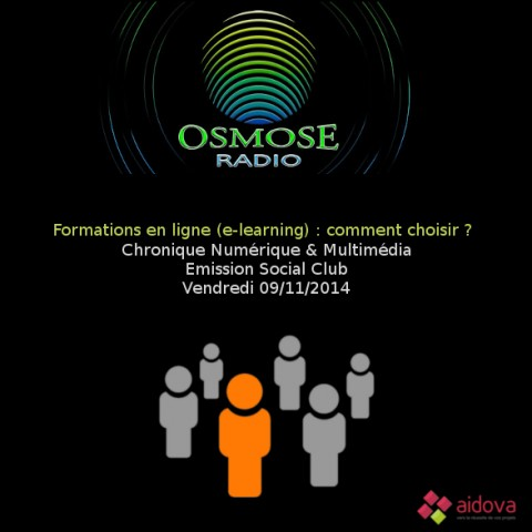 E-learning sur Osmose Radio