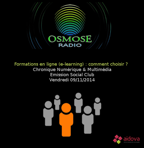 L'e-learning sur Osmose Radio