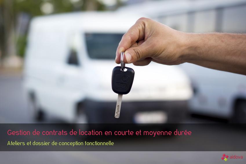 Gestion de contrats de location en courte et moyenne durée