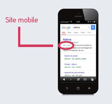 """Aidova est un site """"Mobile Friendly"""""""